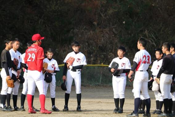 トヨタ自動車 硬式野球部 野球教室